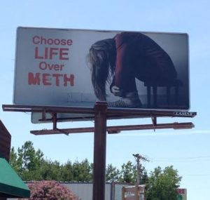 Meth Billboard Burnett County