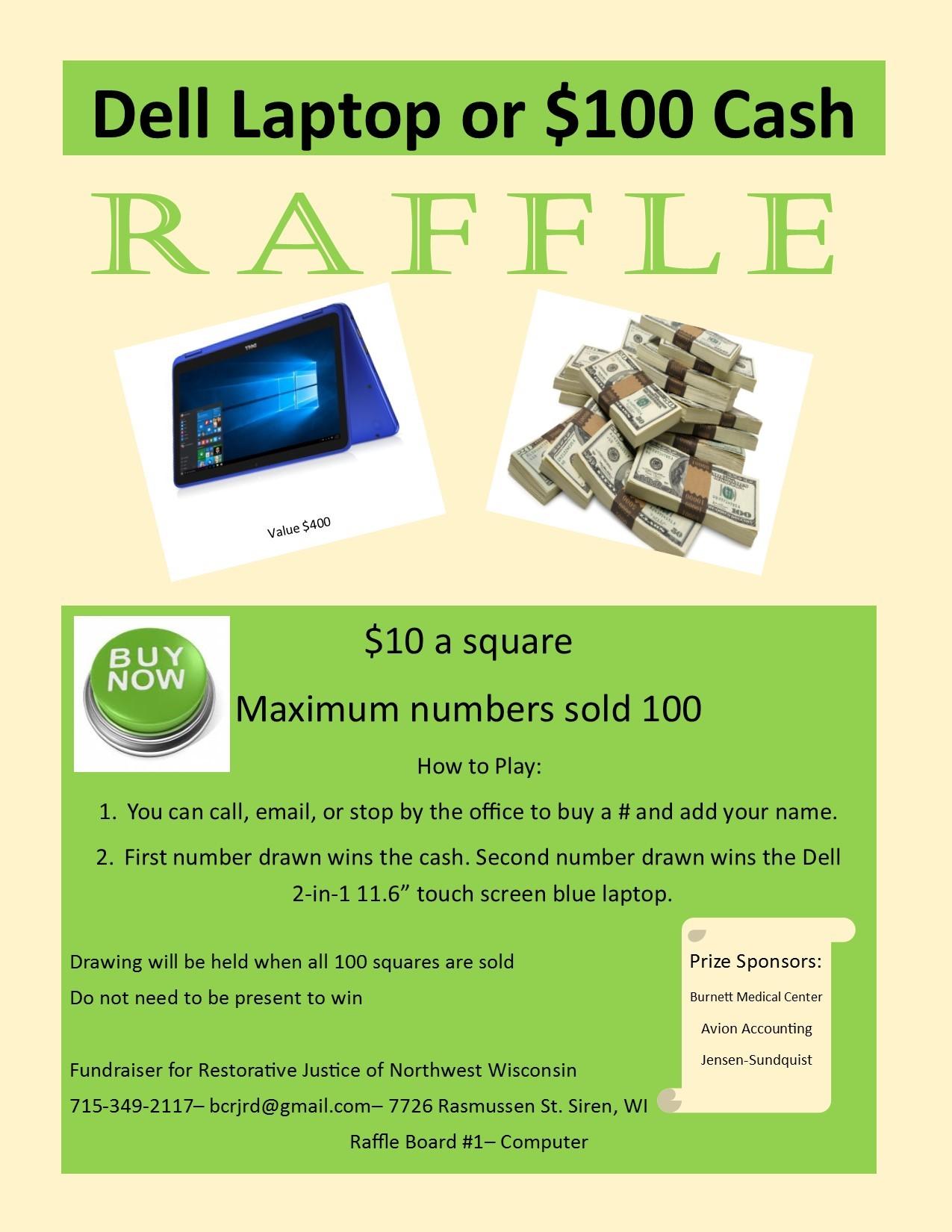 Raffle-Board-Fundraiser